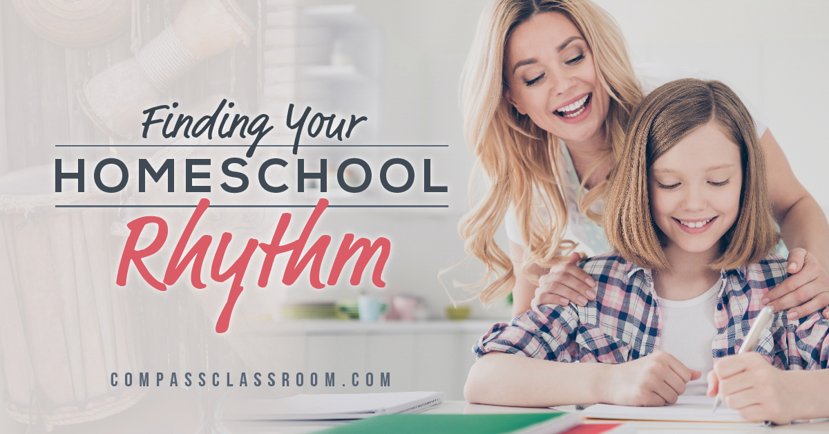 homeschool rhythm