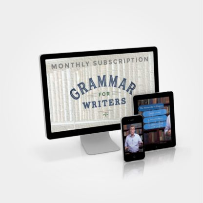 Grammar for Writers - Monthly Subscription