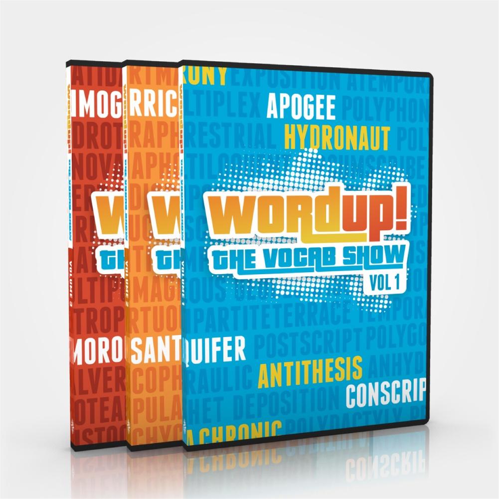 Word Up! Complete Set - 3 DVDs