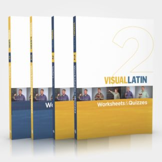 Visual Latin 1 & 2 Printed Books