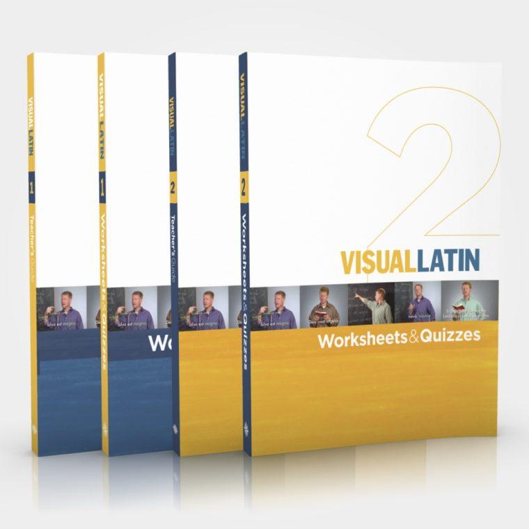Visual Latin 1 & 2 Printed Books
