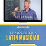 Visual Latin Homeschool Curriculum - Learn from a Latin magician