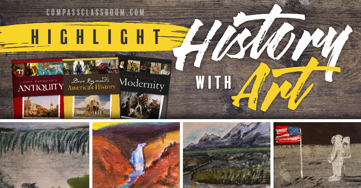 highlight history with art