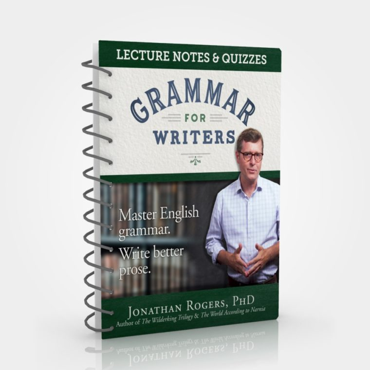 Grammar for Writers Lecture Notes & Quizzes Printed Book