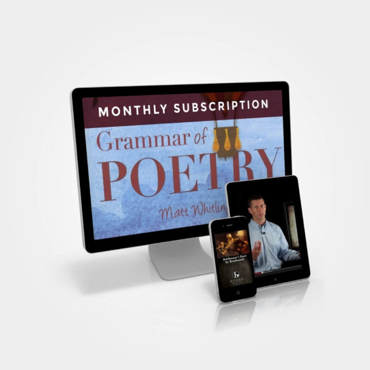 Grammar of Poetry Subscription