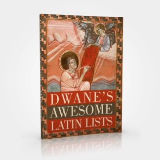 Dwane's Awesome Latin Lists