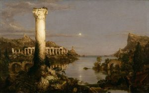 Thomas Cole Course of Empire Desolation