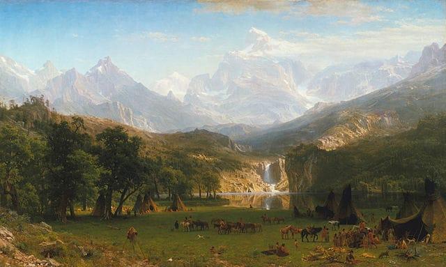 Bierstadt Lander's Peak