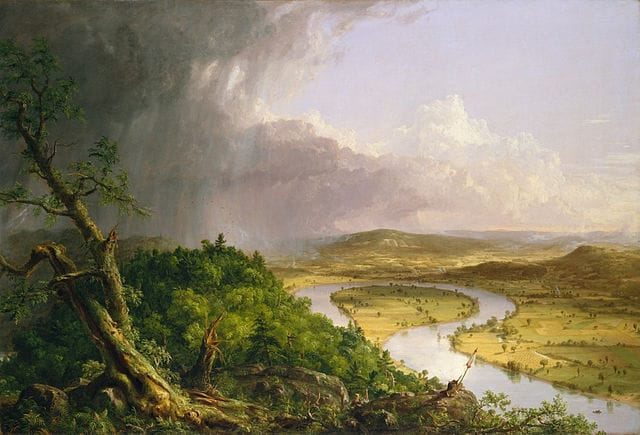 Thomas Cole - The Ox-bow