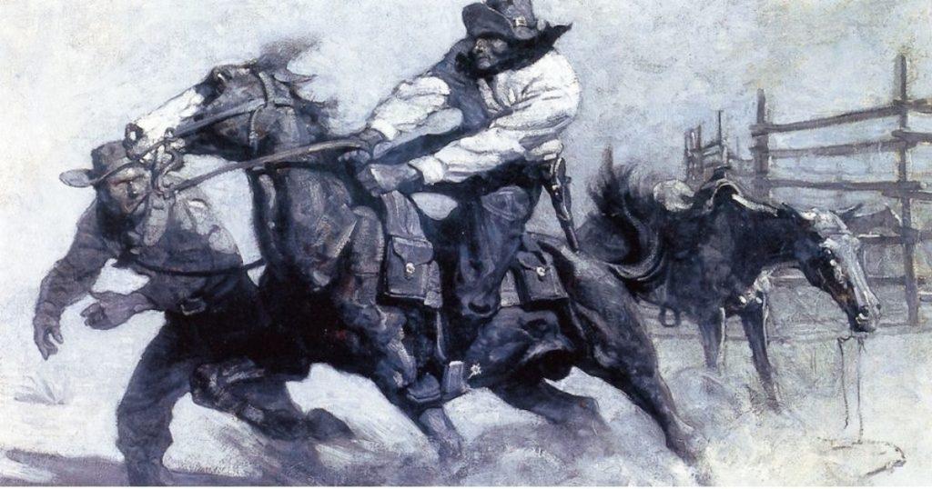 Pony Express NC Wyeth