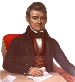Chief John Ross of the Cherokee Nation
