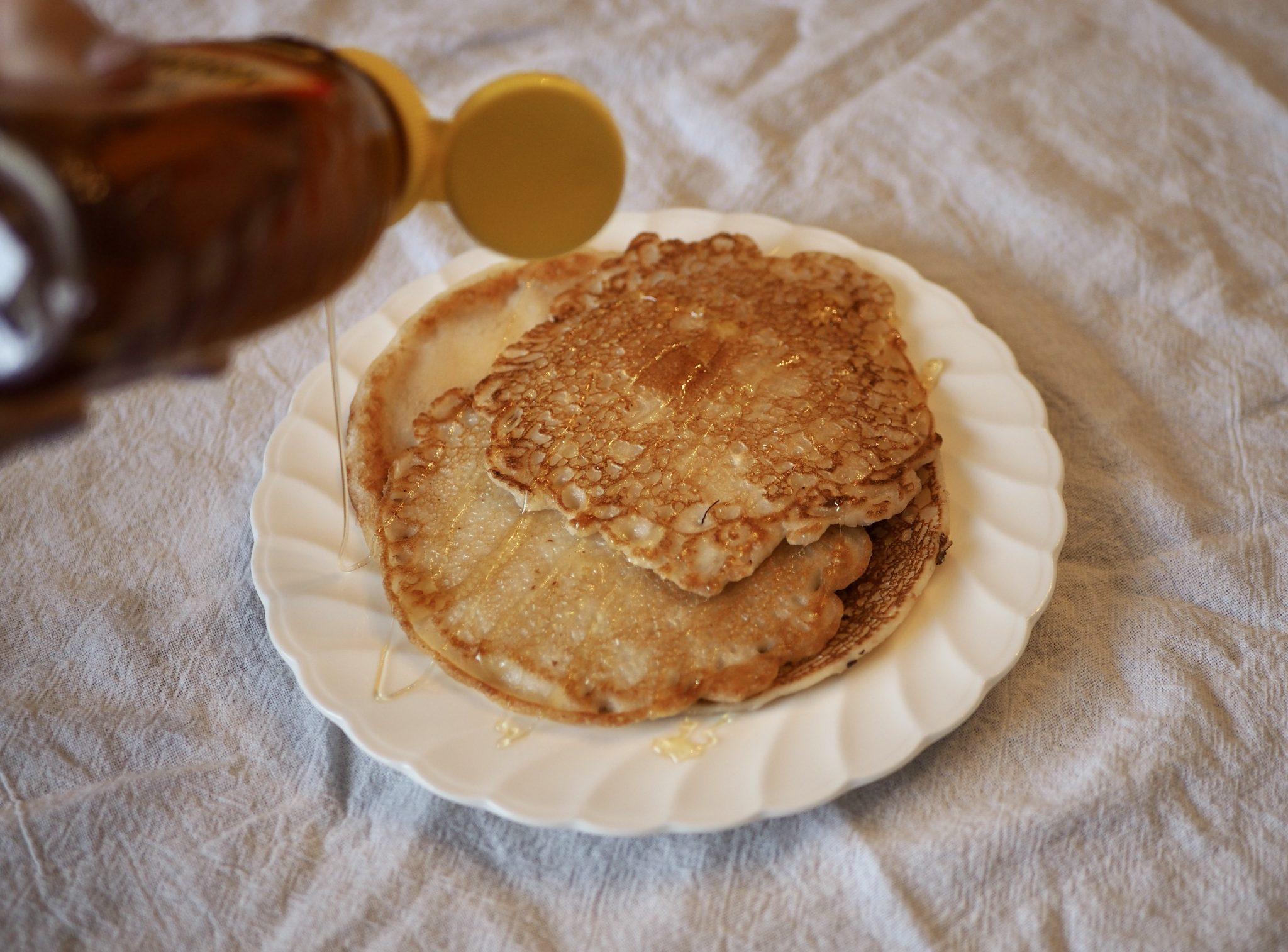 roman pancakes